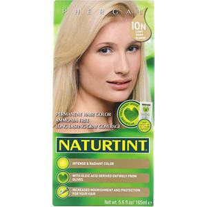 Натуртинт, Permanent Hair Color, 10N Light Dawn Blonde, 5.6 fl oz (165 ml) отзывы