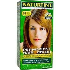 Натуртинт, Permanent Hair Color, 6G Dark Golden Blonde, 5.28 fl oz (150 ml) отзывы покупателей