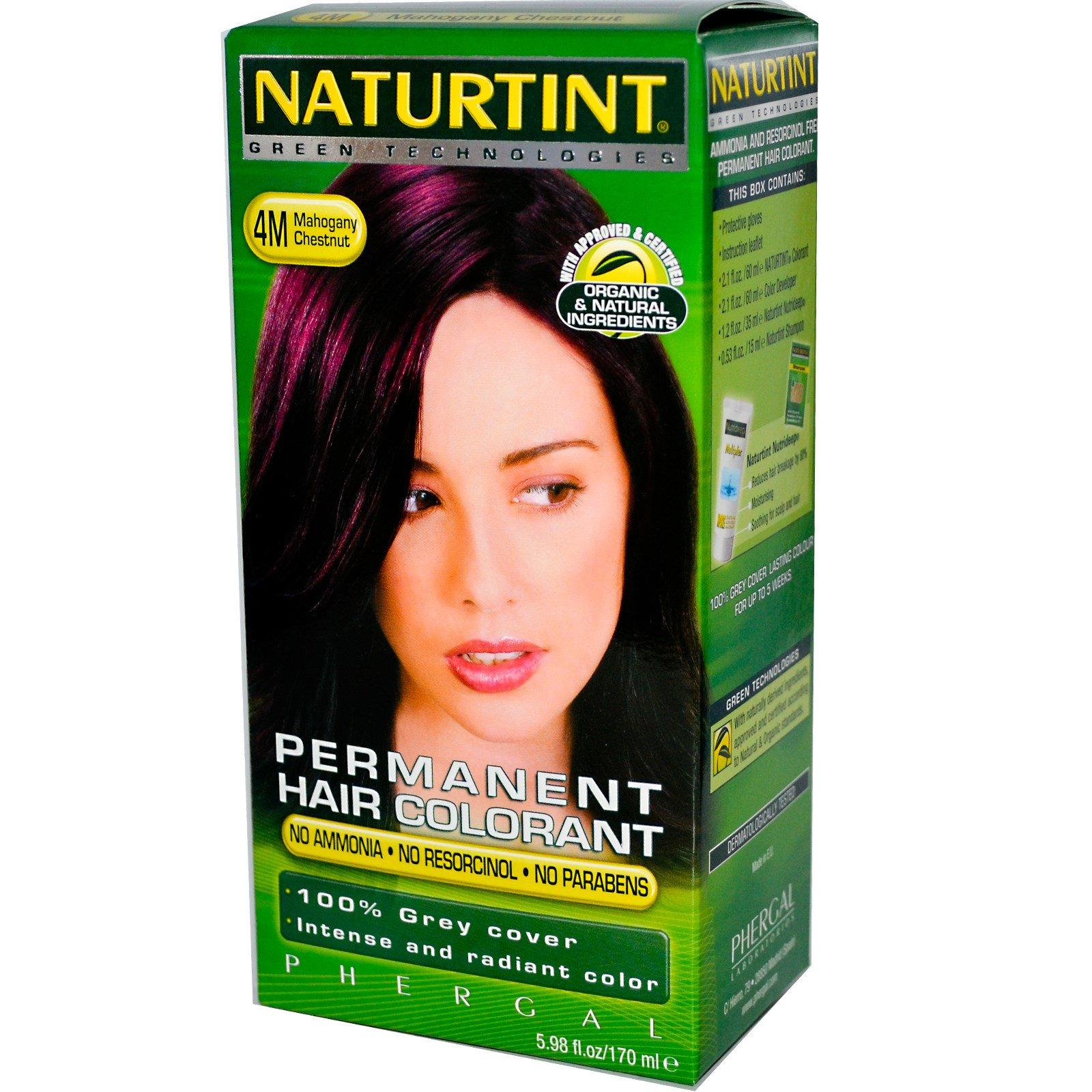 Naturtint, Стойкая краска для волос, 4М, золотистый каштан, 5,28 жидких унций (150 мл)