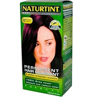 Naturtint, Permanent Hair Colorant, 4M Mahogany Chestnut, 5.98 fl oz (170 ml)