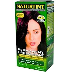 Naturtint, Стойкая краска для волос, 4М, золотистый каштан, 5,28 жидких унций (150 мл) инструкция, применение, состав, противопоказания