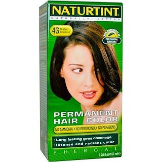 Naturtint, Permanent Hair Colorant, 4G Golden Chestnut, 5.28 fl oz (150 ml)