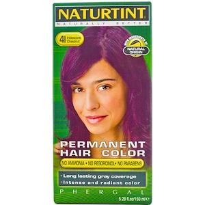 Натуртинт, Permanent Hair Color, 4I Iridescent Chestnut, 5.28 fl oz (150 ml) отзывы