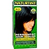 Naturtint, Permanent Hair Color, 2N Brown-Black, 5.28 fl oz (150 ml)