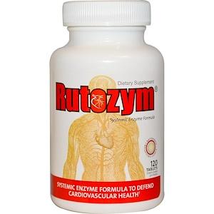 Натуралли Витаминс, Rutozym, Systemic Enzyme Formula, 120 Enteric Coated Tablets отзывы