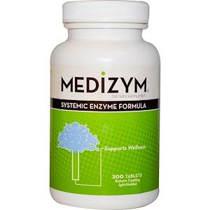 Натуралли Витаминс, Medizym, Systemic Enzyme Formula, 200 Tablets отзывы