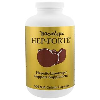 Naturally Vitamins, Marlyn, Hep-Forte, 500 Soft Gelatin Capsules