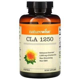 NatureWise, CLA 1250, 1,000 mg, 90 Softgels