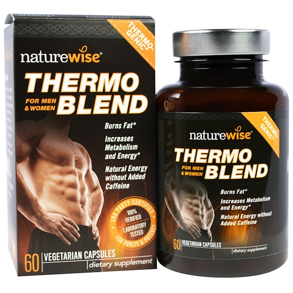 NatureWise, Thermoblend, For Men & Women, 60 Veggie Caps (Discontinued Item)