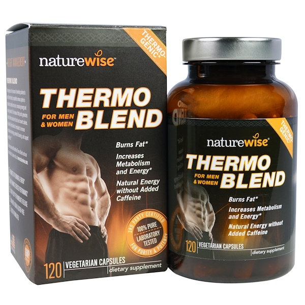 NatureWise, Thermo Blend, For Men & Women, 120 Veggie Caps (Discontinued Item)