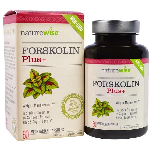 NatureWise, Forskolin Plus, 60 Veggie Caps (Discontinued Item)