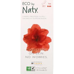 Нати, Panty Liners, Large, 28 Eco Pieces отзывы покупателей