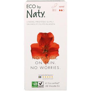 Naty, بطانات اللباس الداخلي، عادية، 32 قطعة بيئية