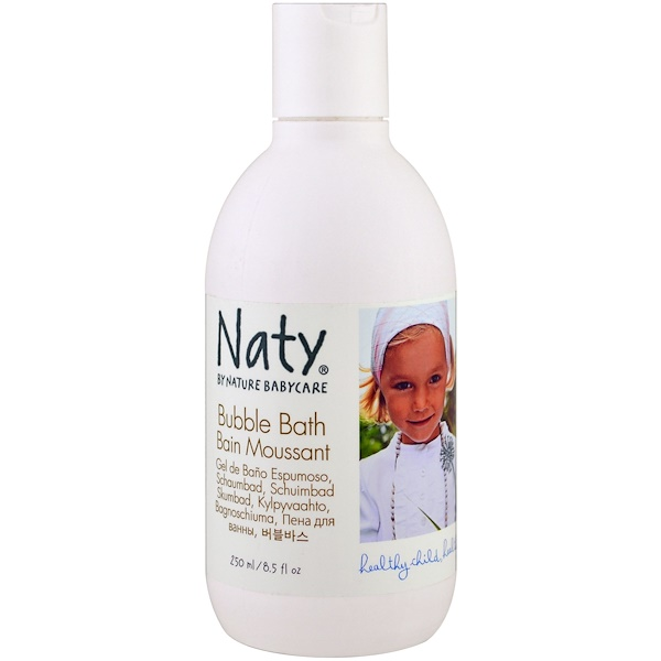 Naty, 泡泡浴,8、5 液體盎司(250 毫升)
