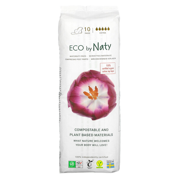 Maternity Pads, Extra, 10 Pads