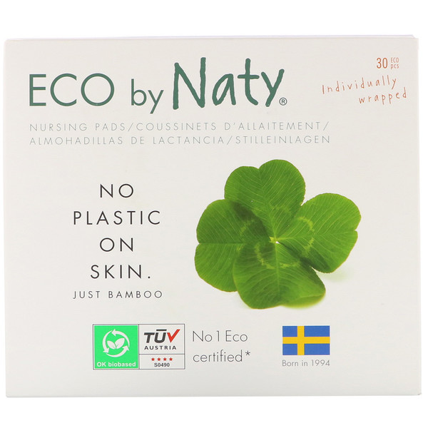 Naty, Nursing Pads, 30 Individually Wrapped Pads (Discontinued Item)