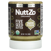 Nuttzo, Five Seed Butter, Tahini Fusion, 12 oz (340 g)