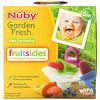 Nuby, Garden Fresh Fruitsicles, 6+ Months, 4 Pack