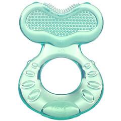 Nuby, 舒緩牙膠,牙齒 Eez,3 個月以上,水,2 件套