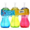 Nuby, No Spill FlexStraw Cups, 12+ Months, Boy, 3 Pack, 10 oz (300 ml) Each
