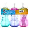 Nuby, No Spill FlexStraw Cups, 12+ Months, Girl, 3 Pack, 10 oz (300 ml) Each