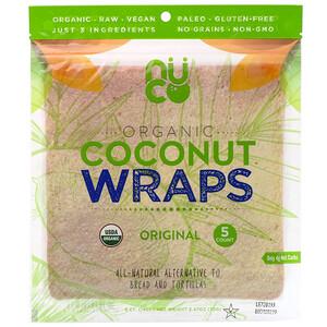 Нутритионал Концептс, Organic Coconut Wraps, Original, 5 Wraps (14 g) Each отзывы покупателей
