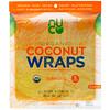 NUCO, Organic Coconut Wraps, Turmeric, 5 Wraps (14 g) Each