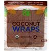 NUCO, Organic Coconut Wraps, Cinnamon, 5 Wraps (14 g) Each