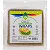 NUCO, Coconut Wraps, Moringa, 5 Wraps (14 g) Each