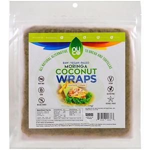 Нутритионал Концептс, Coconut Wraps, Moringa, 5 Wraps (14 g) Each отзывы