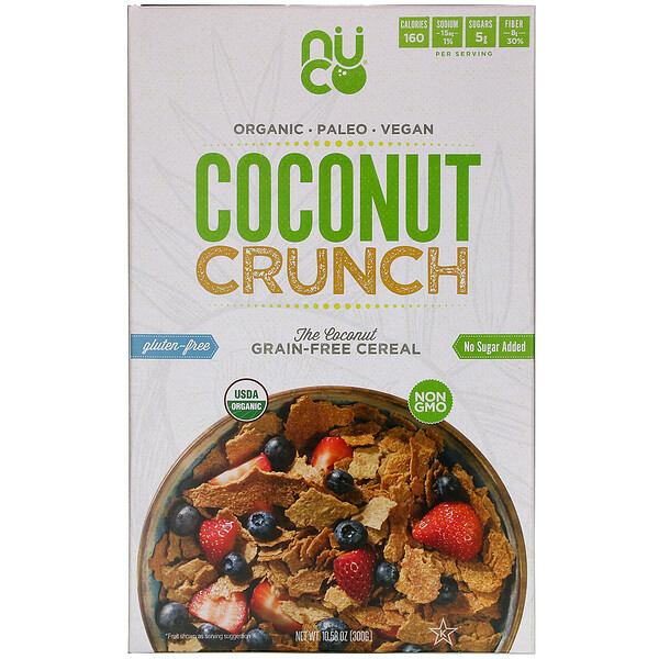 Coconut Crunch Cereal, 10.58 oz (300 g)