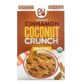 NUCO,  Organic Cinnamon Coconut Crunch, Grain-Free Cereal, 10.58 oz (300 g)