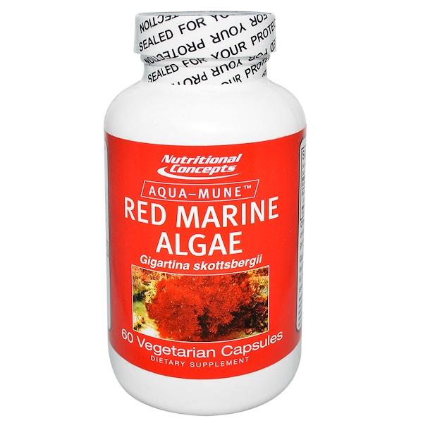 NUCO, Red Marine Algae, 60 Veggie Caps (Discontinued Item)