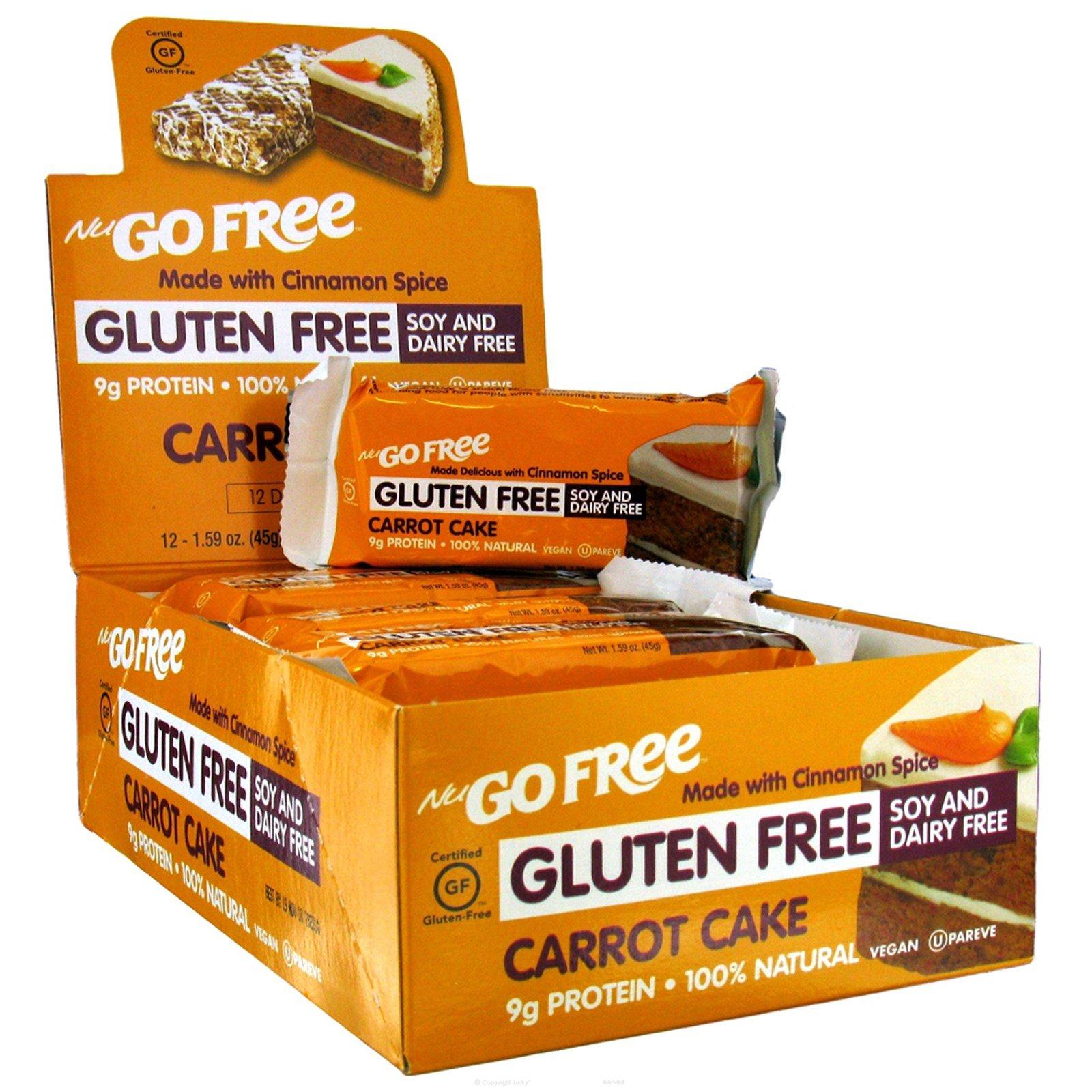 Nugo Nutrition Gluten Free Carrot Cake Bars