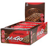 NuGo Nutrition, Nutrition To Go, chocolate, 15 barritas, 50 g (1,76 oz) cada una