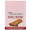 NuGo Nutrition, لوح بروتين Smarte Carb، بالشيكولاتة والكرز الأسود، 12 لوحًا، 1.76 أونصة (50 جم) لكل لوح