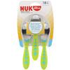 NUK, First Essentials,儿童餐具幼儿勺子,18 个月以上,3 包