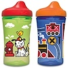 NUK, Gerber Graduates, Advance Developmental Cups, 12+ Months, Boy, 2 Cups, 10 oz (300 ml) Each
