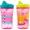NUK, Advance Developmental Cups, 12+ Months, Girl, 2 Cups, 10 oz (300 ml) Each