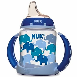 NUK, Learner Cup, 6+ Months, Elephants, 1 Cup, 5 oz (150 ml)