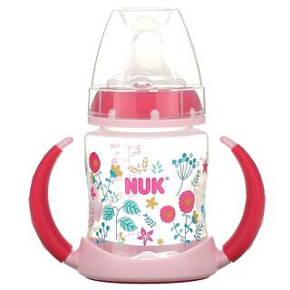 NUK, 学饮杯,6 个月以上,粉色,1 杯,5 盎司(150 毫升)