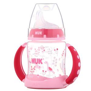 НУК, Learner Cup, 6+ Months, Pink, 1 Cup, 5 oz (150 ml) отзывы покупателей