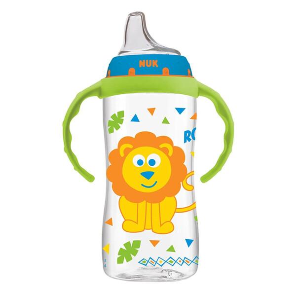NUK, Large Learner Cup, 9+ Months, Boy, 1 Cup, 10 oz (300 ml)