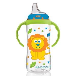 НУК, Large Learner Cup, 9+ Months, Boy, 1 Cup, 10 oz (300 ml) отзывы покупателей