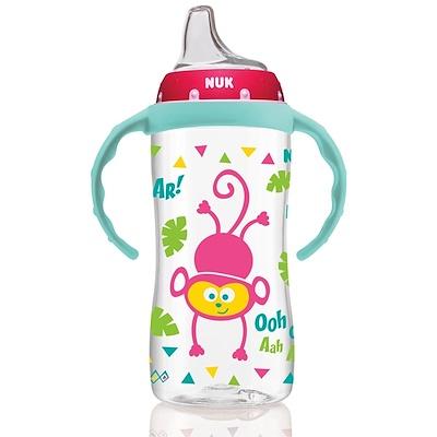 NUK 大號學習杯,9個月以上,森林女孩,1個杯子,10盎司(300毫升)