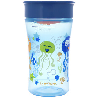 NUK, Magic 360, Magical Spoutless Cup, 12+ Months, Boy, 1 Cup, 10 oz (300 ml)