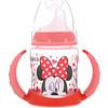 NUK, Disney Baby, Minnie Mouse taza de estudiante de 6 meses, 1 taza 5 oz (150 ml)