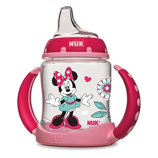 NUK, Disney Baby,  Minnie Mouse Learner Cup 6 + Months, 1 cup, 5 oz (150 ml)