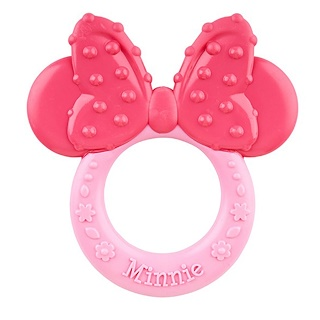 NUK, Disney Baby, Minnie Mouse Teether, 3+ Months, 1 Teether