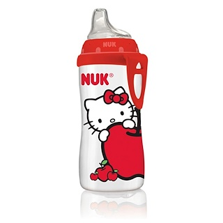NUK, Hello Kitty Active Cup, 12 + Month, 1 Cup, 10 oz (300 ml)